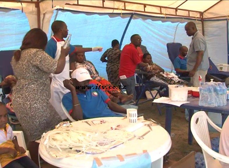 Waendesha Bodaboda Wajitokeza Kuchangia Damu Mkoani Mbeya