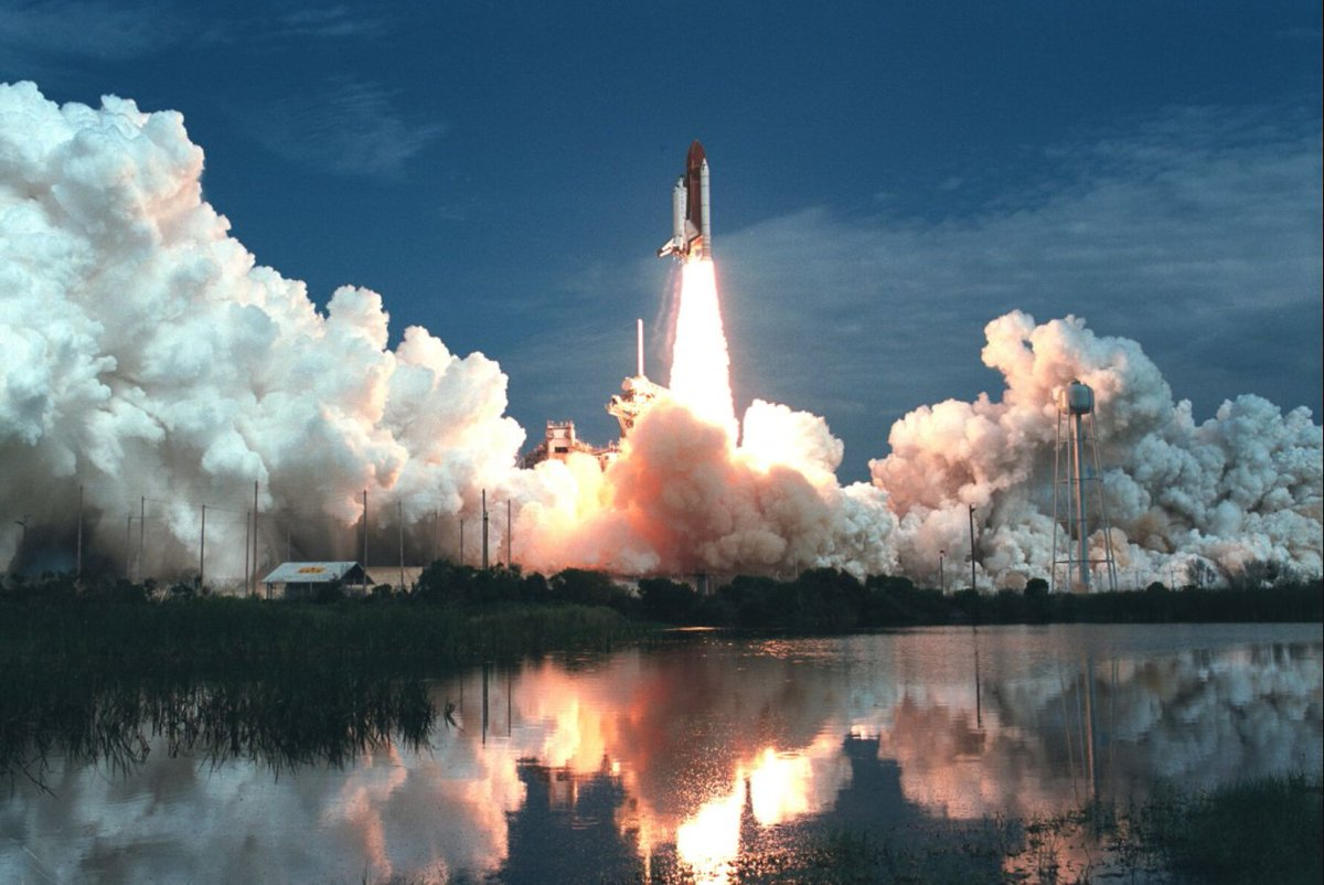 Sts-40 launch from ksc 39b wit...