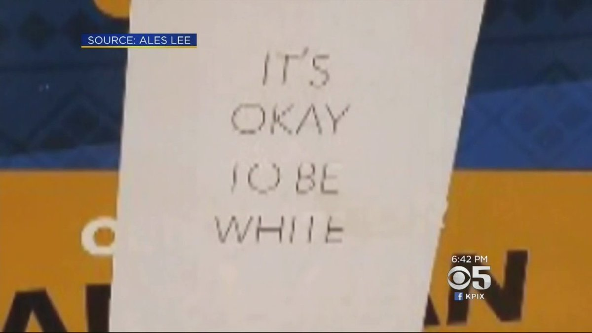 Anonymous 'It's OK To Be White' Flyers Posted At UC Davis, OtherCampuses