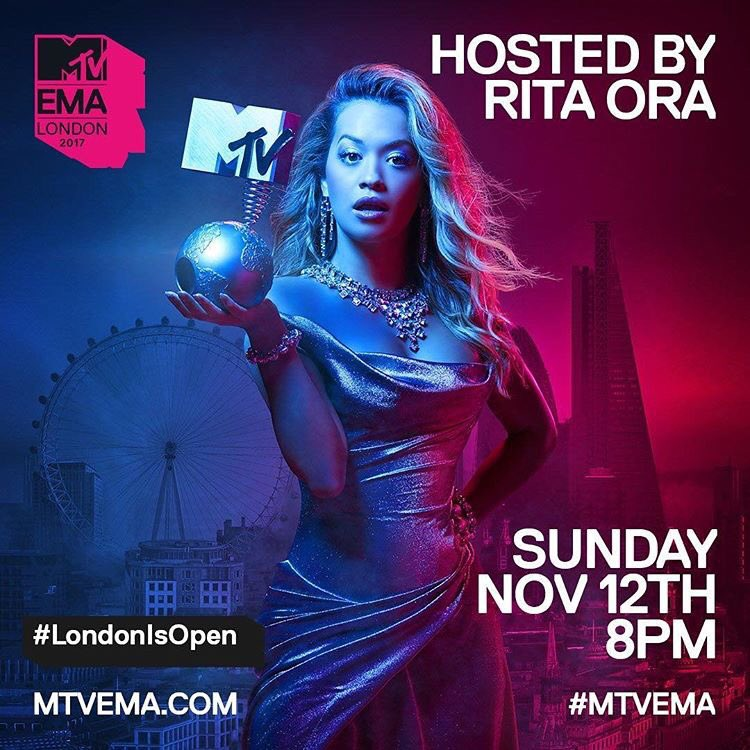 Rehearsal done! Only a few hours until we go live!! @mtvema https://t.co/2o00X74tf1