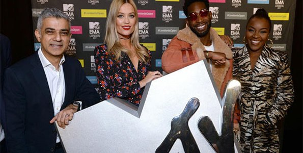 MTV Europe Music Awards returns to London with glitzy show