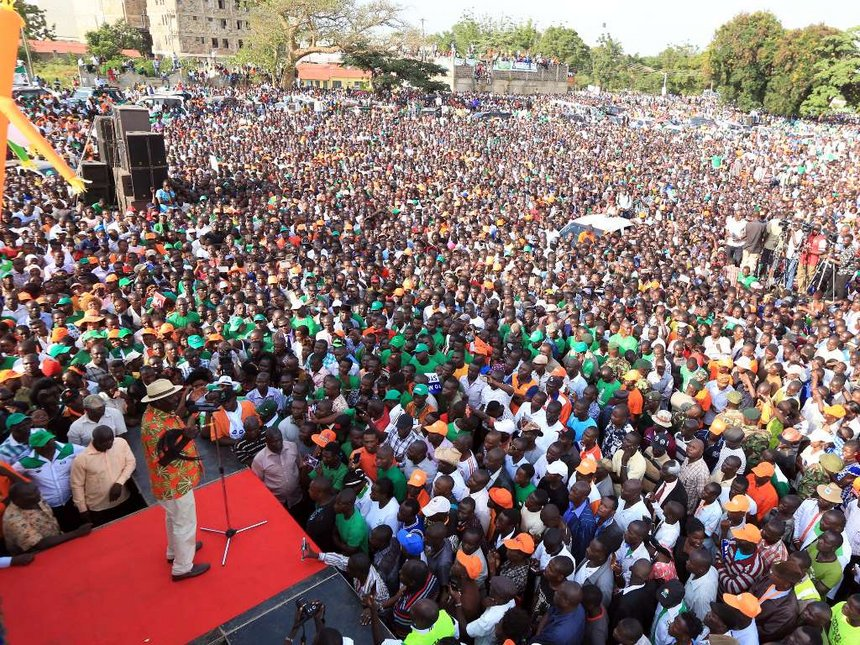 Bungoma is still firmly in NASA, only 17% voted