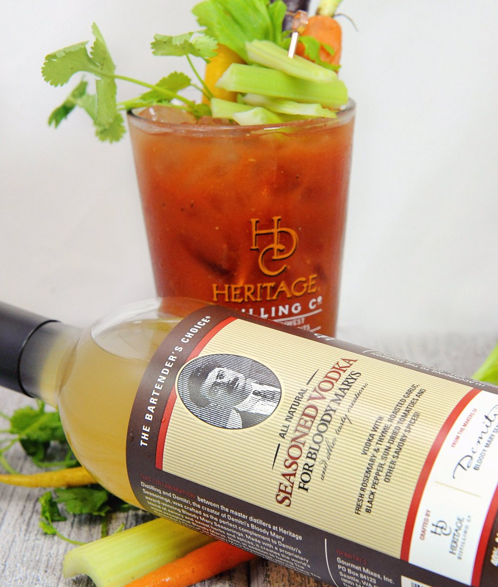 test Twitter Media - Which #HeritageDistilling spirit do you use for your Sunday Bloody Marys? Try our Double Gold Medal winner Seasoned Vodka! https://t.co/GAV2eaAo9q