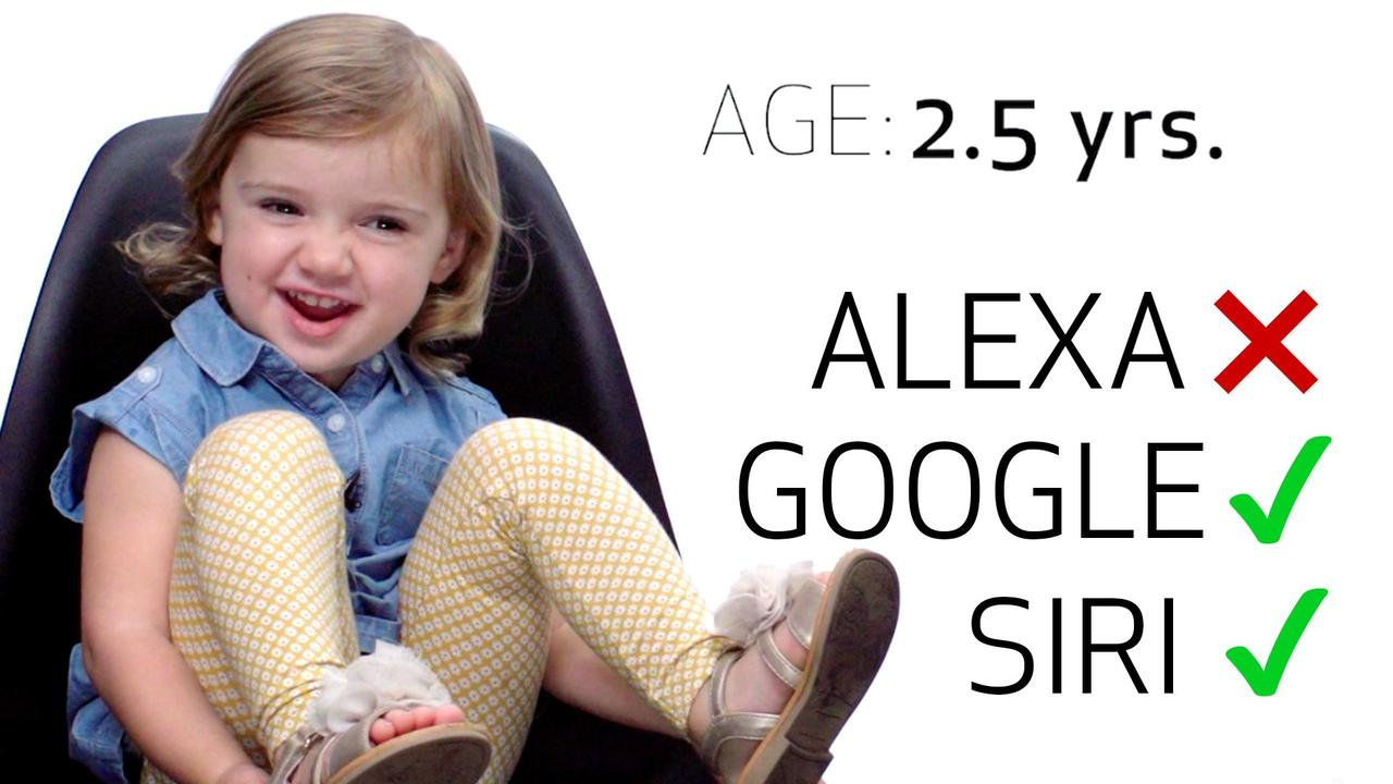 8 children put Siri, Amazon Echo, and Google Home to the test. https://t.co/tEqwuj9hFF