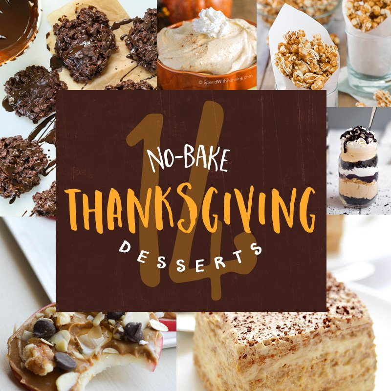 Skip the oven with these no-bake Thanksgiving desserts: