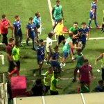 Mass brawl erupts during National Football League tie