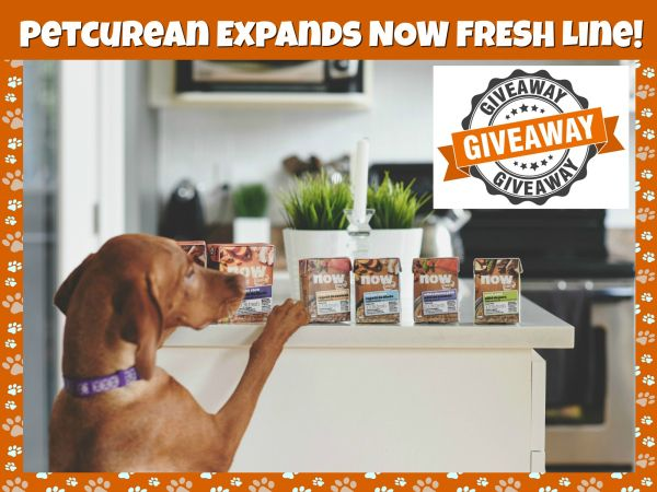 Petcurean Expands NOW FRESH Line! #Giveaway!