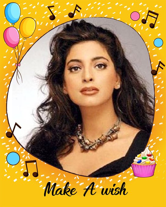 Happy birthday to the noted actress of Bollywood film industry, Juhi Chawla!!!