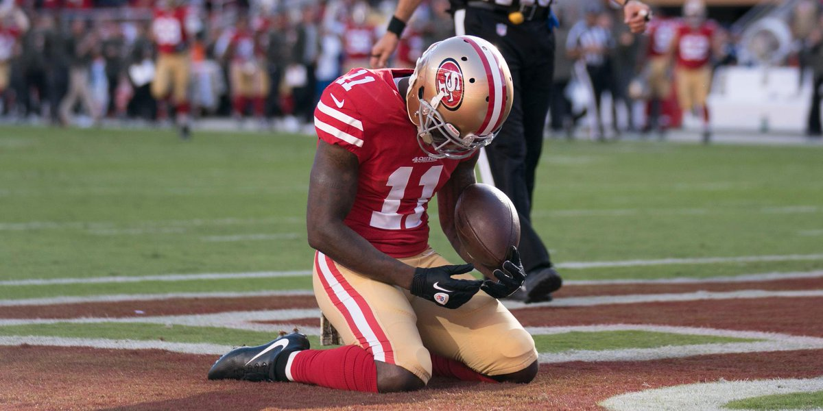 This is what a team is all abo marquise goodwin