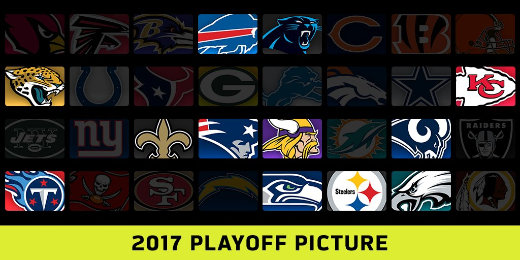 If the season ended right now...  The 2017 playoffs would look like THIS: https://t.co/ZVOplwFY6d https://t.co/BtezCEcJex