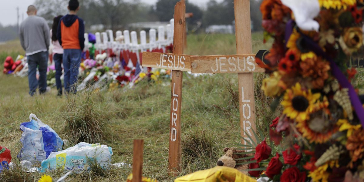Texas town begins to heal after church mass shooting