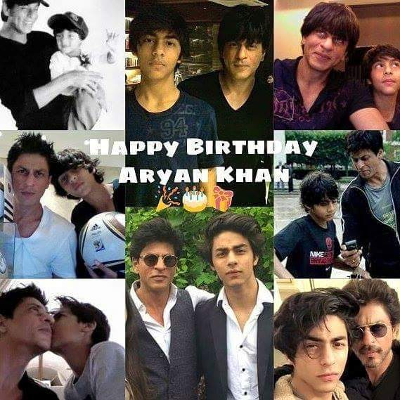 Happy birthday dear Aryan khan    .. god bless u