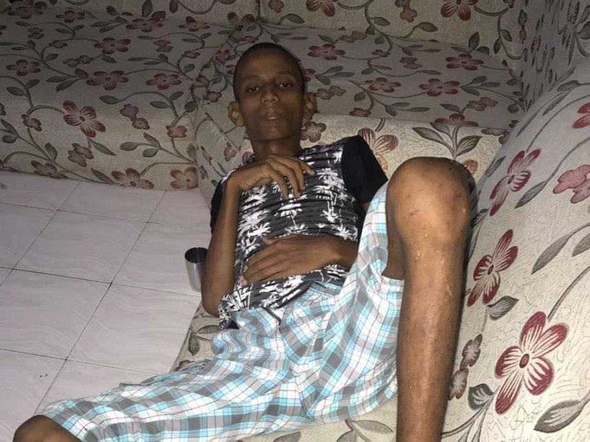 Sonko pledges to help Lamu man with lymphoma