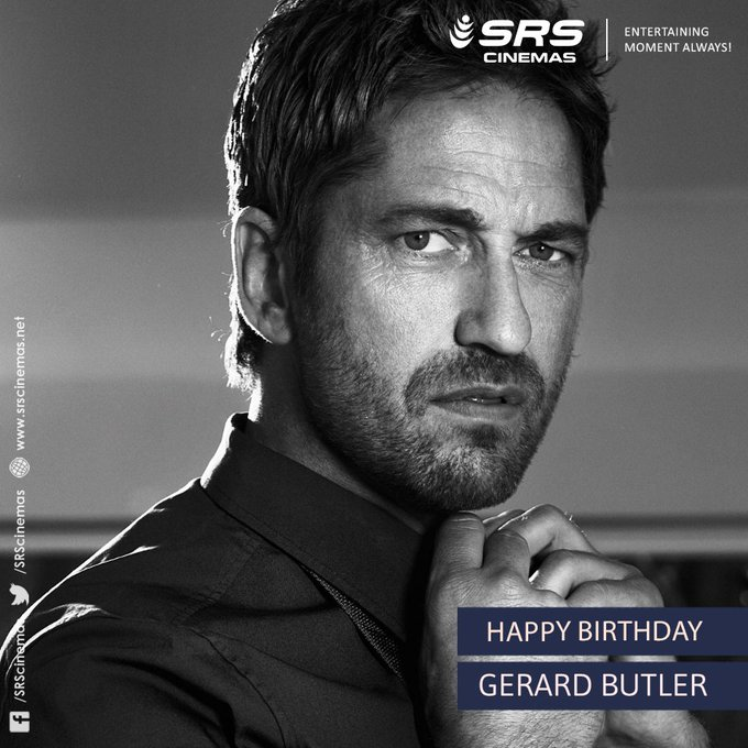 Happy Birthday, Gerard Butler!