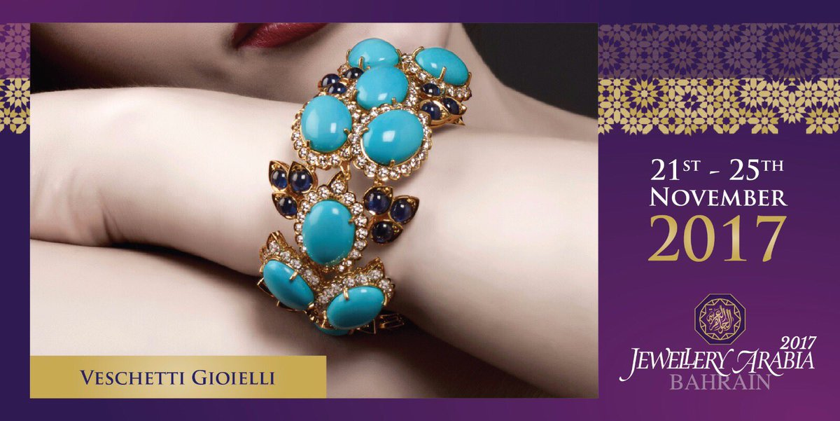test Twitter Media - Drawing inspiration from the timeless elegance from the 20th Century, Veschetti jewels are a perfect balance between classical elements and eclectic modernity 💍 #veschettigioelli #jewelleryarabia2017 #elegant #beautiful #classy https://t.co/f6gW5667Gl