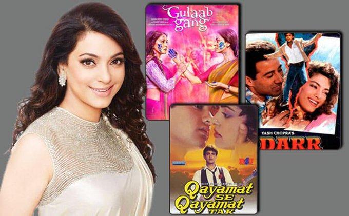 Happy Birthday Juhi Chawla: From Aamir Khan To Shah Rukh Khan, How Juhi RuledBollywood!