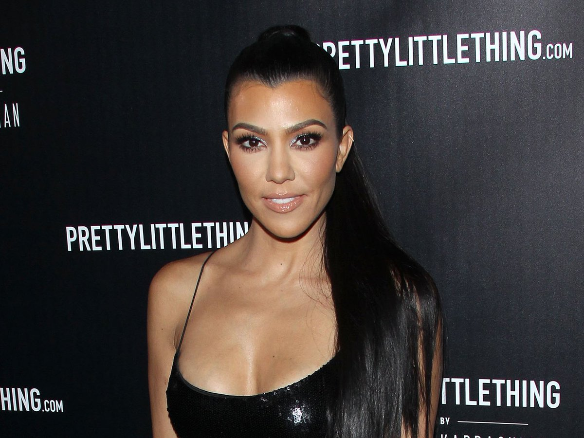 Kourtney Kardashian's New Hair Is Just What We've Been Looking For