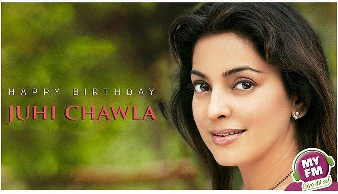 Happy birthday juhi chawla...