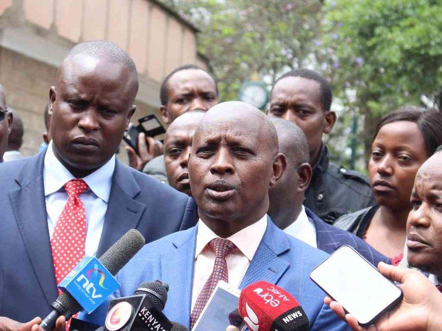 I'm sure I will steer Nyeri to greater heights, says Mutahi Kahiga