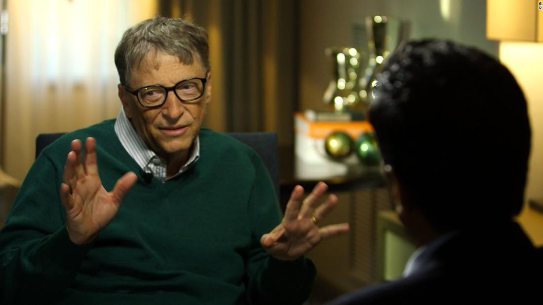 Bill Gates talks to CNN about his newest mission: curing Alzheimer's https://t.co/3VUWtXYeY7 https://t.co/7SwIxtEZts