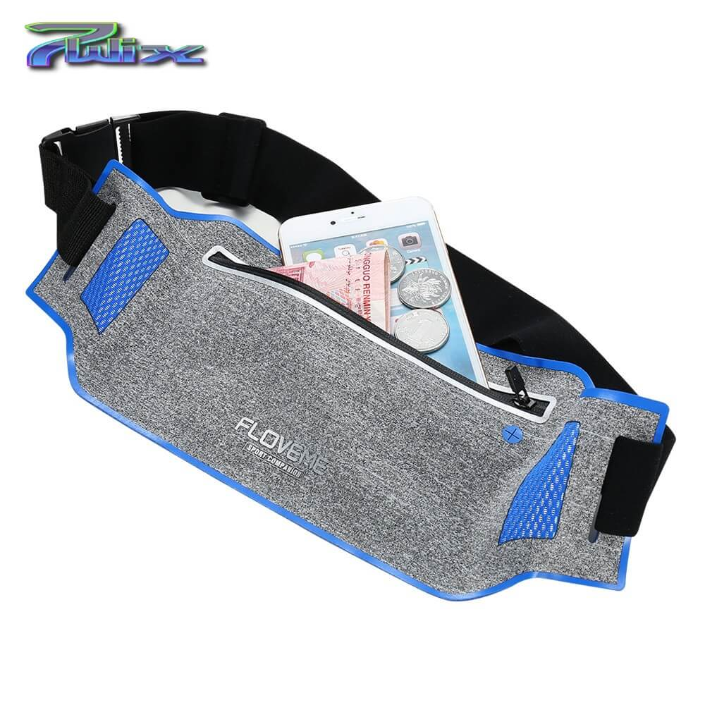 Gym Waist Bag For All Smartphone Types Cases Pouch Running Sport...