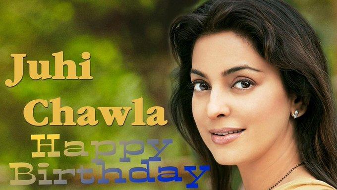 Happy Birthday Juhi Chawla