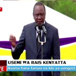 Rais Uhuru Kenyatta anasema hana tamaa ya uongozi
