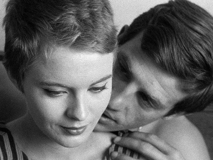 Happy birthday to Jean Seberg, star of Godard\s BREATHLESS!