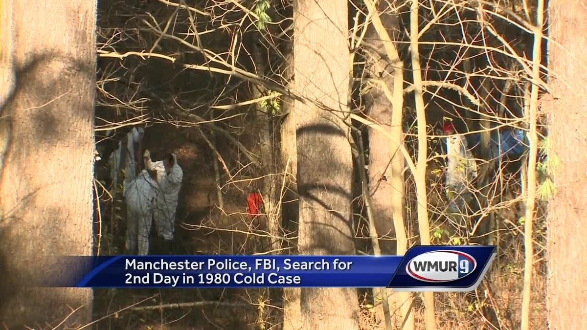 Manchester police, FBI continue search connected to 1980 cold case