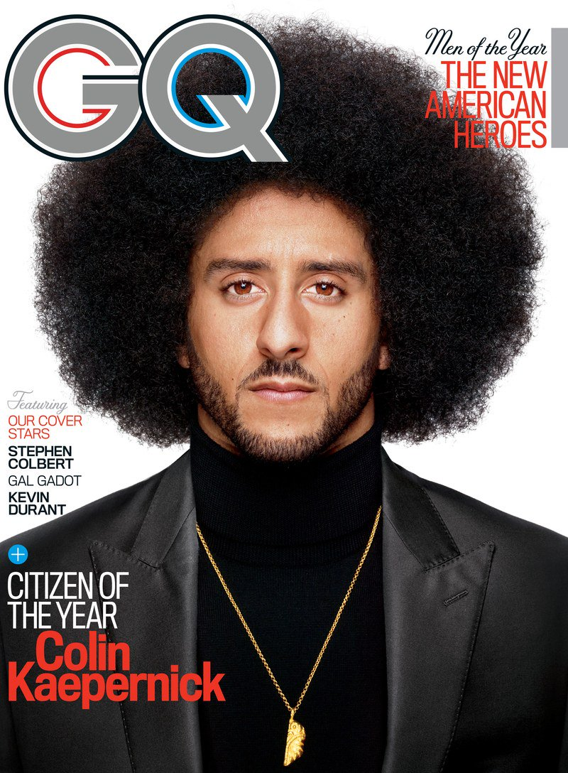 Presenting @Kaepernick7's 2017 GQ Men of the Year cover https://t.co/HZE8XctcIA https://t.co/z4aaNhyEVE