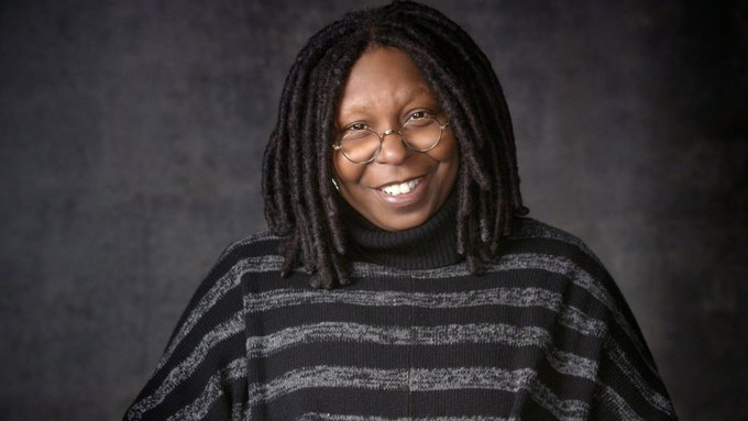 Happy birthday   85 winner for her one woman show WHOOPI GOLDBERG