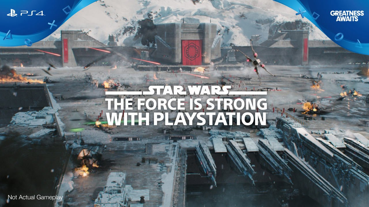 The Force is strong with PlayStation. Enjoy our new Star Wars Battlefront II live-action TV spot, Rivalry. https://t.co/dxekjptseu