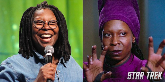Birthday to Whoopi Goldberg! What was your favorite Guinan moment?