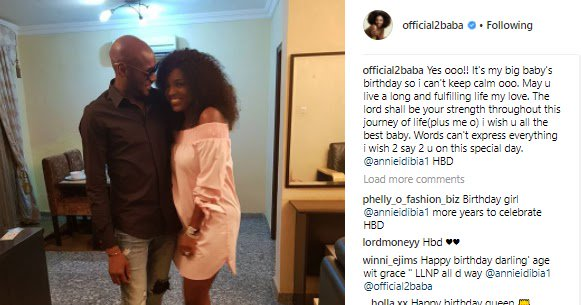 'Words Can't Express Everything I Wish To Say' - See 2face's Sweet Brthday To His Wife Annie https://t.co/0Ui7QBfWxY https://t.co/Dq7B4tURpI
