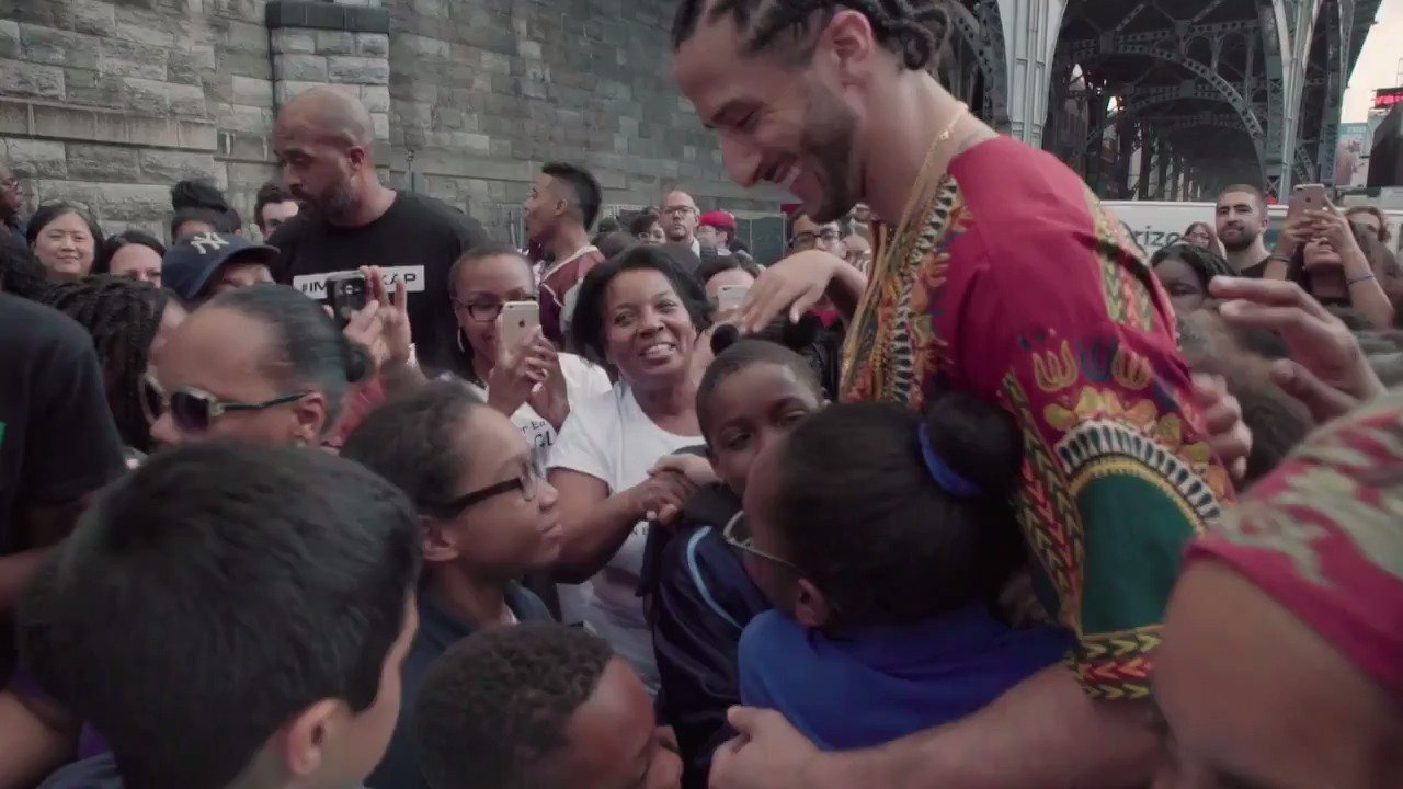 @Kaepernick7 .@Kaepernick7 visits Harlem for his #GQMOTY moment. https://t.co/nJxK8hQrmd