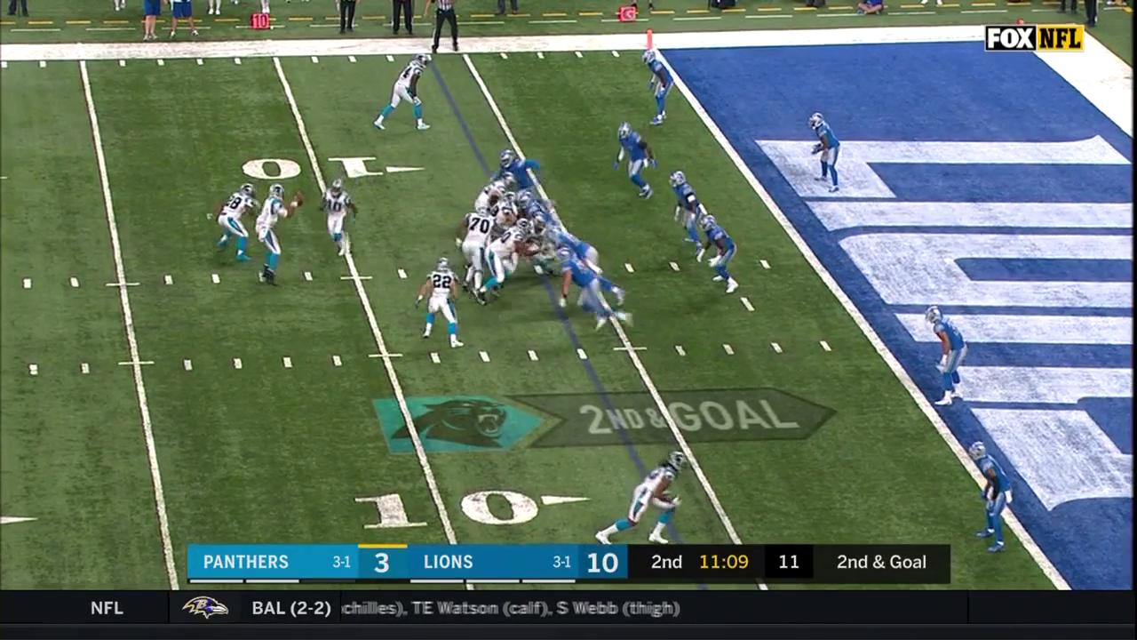 Rookie @run__cmc scored his first touchdown in Week 5! https://t.co/cvo8Ln3DIX