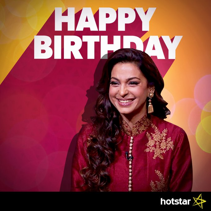 Happy birthday to the woman with the million-dollar smile, Juhi Chawla!