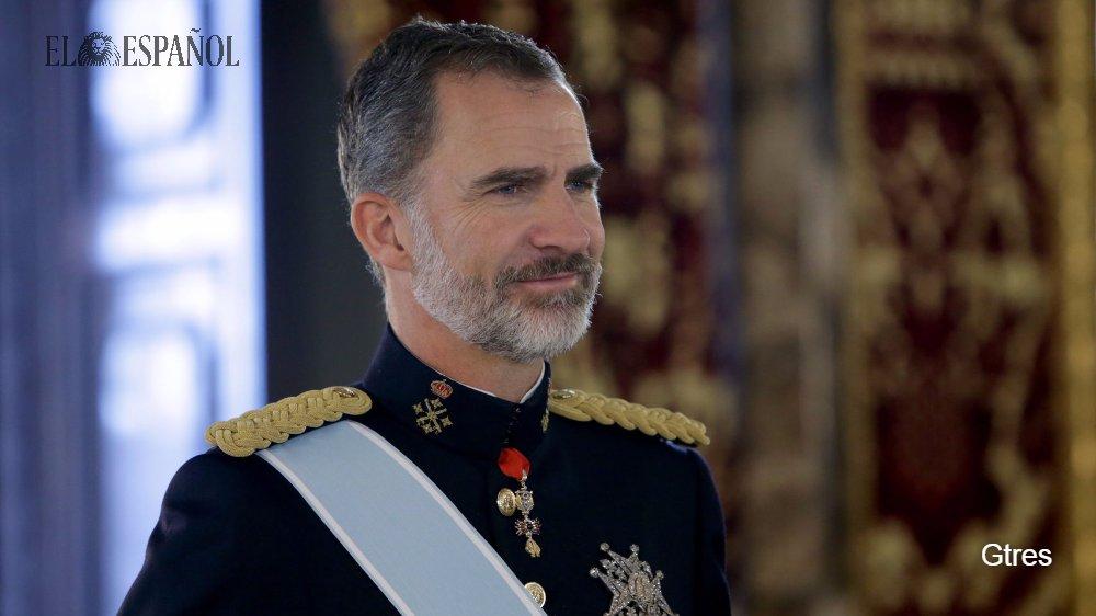 Felipe VI lo está pasando muy  felipe vi