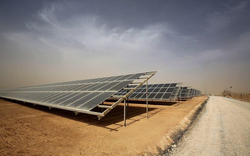 Jordan opens world's largest solar park at refugee camp