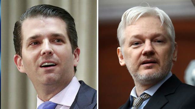 #BREAKING: Trump Jr. corresponded privately with WikiLeaks before the election: report https://t.co/lifq0qQKxN https://t.co/kCd31vJhbF