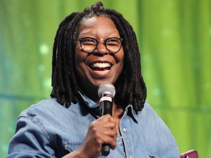 Happy 62nd birthday to the legendary Whoopi Goldberg