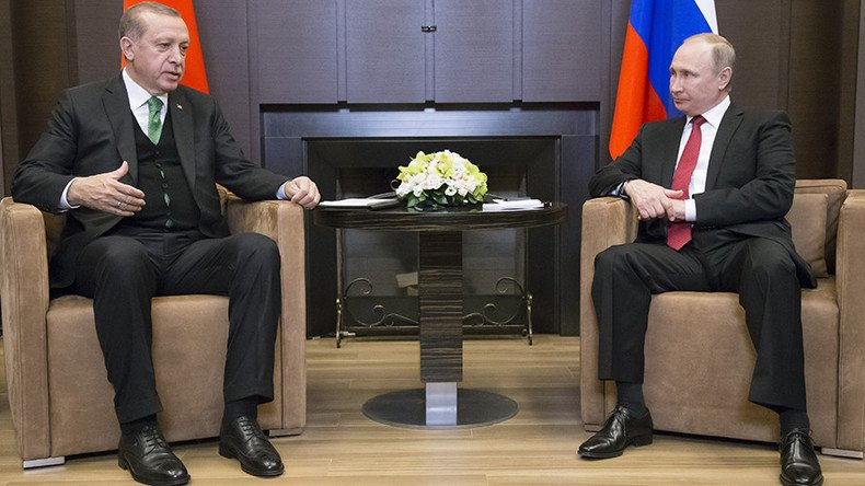 Putin, Erdogan address media after talking Syria in Sochi (WATCH LIVE)