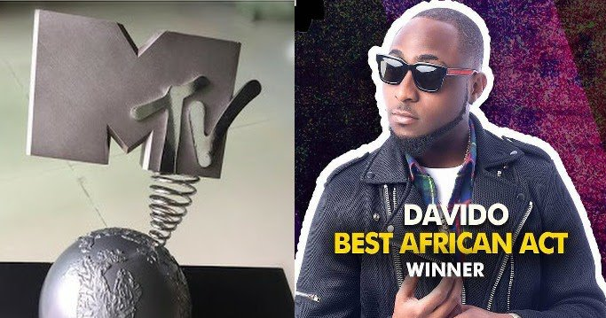 Davido Shows Off His New MTV EMA's Best African Act 2017 Award On IG https://t.co/nsMiNc7VdN https://t.co/A38vP520s8