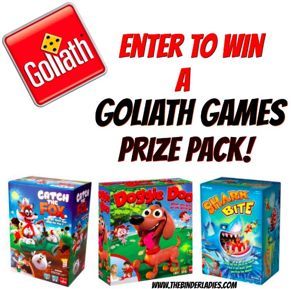 Enter to win a Goliath Games Prize Pack!!