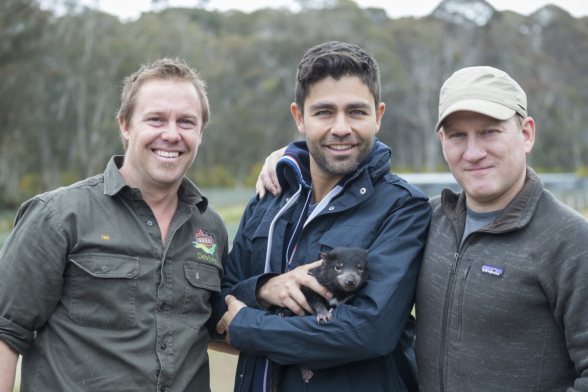 Last week in #Australia with @Global_Wildlife to support the protection of the #endangered Tasmanian Devils. https://t.co/vdfNHZqiVr