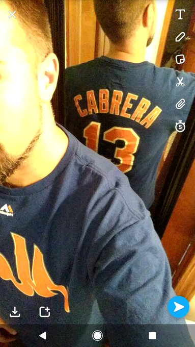 Happy birthday to my favorite Met, Asdrubal Cabrera!