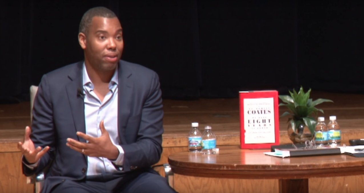 Watch Ta-Nehisi Coates explain why white people think they can rap the n-word at concerts. https://t.co/QwYM9oYrnN https://t.co/OM7KdJU0xJ
