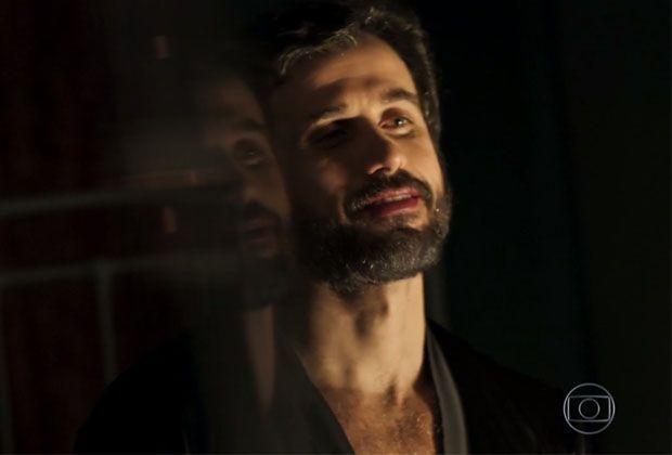 """Eriberto Leao. Foto do site da RD1 que mostra Conheça o novo amante de Eriberto Leão em """"O Outro Lado doParaíso"""""""