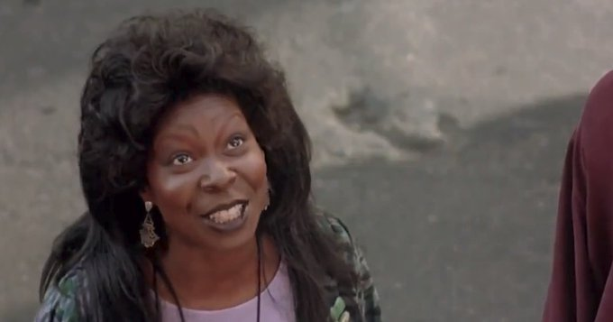 Happy Birthday to Oscar winner Whoopi Goldberg!