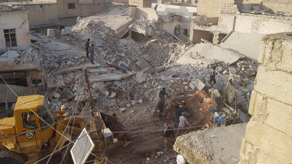 Air strikes kill 43 civilians in Syria's Aleppo